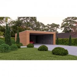 Carport Oudry Double 650 x 700 cm
