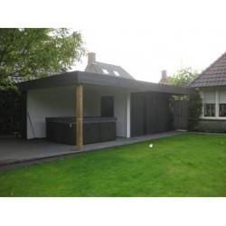 Blokhut Lounge 725 x 335 cm