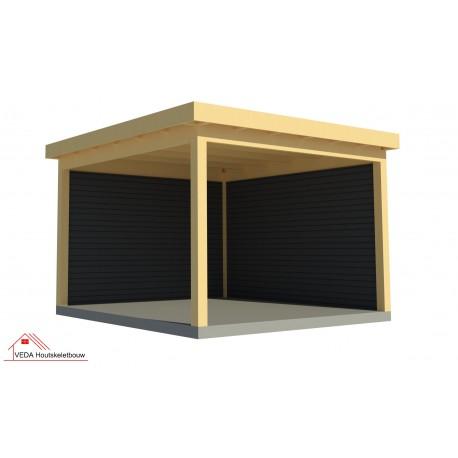 Douglas overkapping (bouwpakket) - 395 x 395  cm