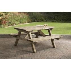 Picknicktafel recht 150 cm