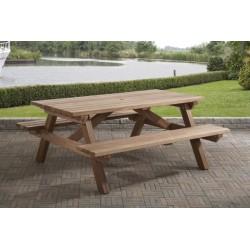 Picknicktafel hardhout 180 cm