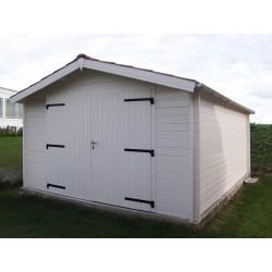 Garage Marca 416 x 536 cm blokhut tuinhuis zadeldak biancasa chalet center