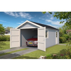 Garage Dillon 300 x 540 cm Platinum Grey